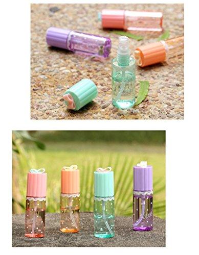 35ml Perfume - HHei_K Fashion Travel Portable Transparent Plastic Perfume Atomizer Clear Empty Spray Bottle 1Pcs 35ml (Random Color, 35ml)