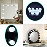 Vanity Mirror Lights,Hollywood Style LED Vanity Mirror Lights with Touch Dimmer (Mirror Not Included)