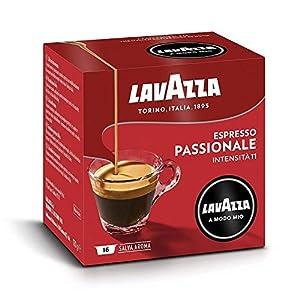 Lavazza A Modo Mio Capsule Caffè Espresso Passionale - Confezione da 256 Capsule, 16 Unità (Confezione da 16)