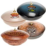 Holyart Bowl ceramic lamp, Leather