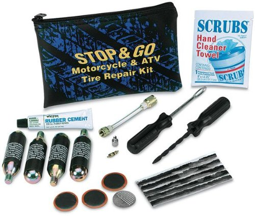 Stop & Go 1066 Motorcycle & ATV Tire Repair Kit - Motorcycle Tubeless Tire Repair Kit