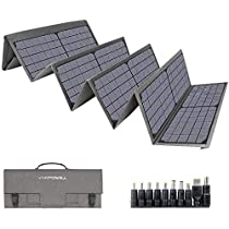 Hypowell 120Wソーラーパネル 単結晶 ソーラーチャージャー折りたたみ式 太陽光パネル DC/USB出力 ...