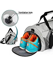 Large Capacity Waterproof Sports Gym & Travel Duffel Bag for Men and Women with Shoe Compartment