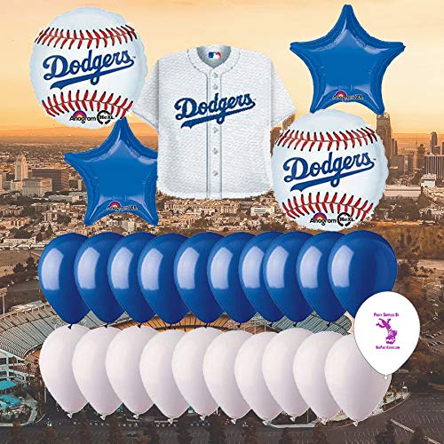 Los Angeles Dodgers 25 Piece Balloon