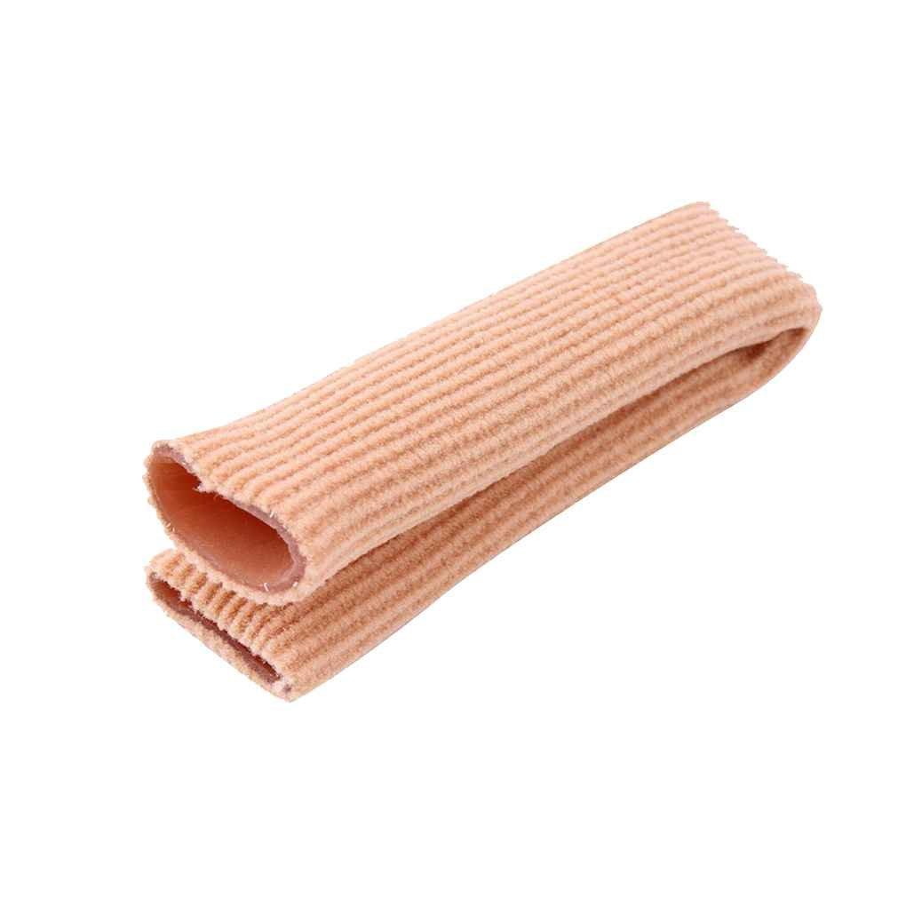 Gankmachine Tubo fasciatura barretta e della punta del piede piedi Protezioni tessuto Gel Dolore