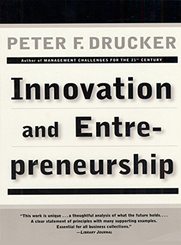 Innovation and Entrepreneurship cover
