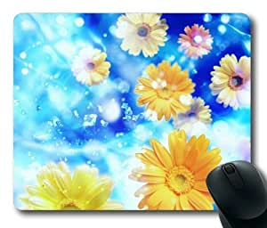 Yellow Daisy Flowers Rectangle For Case Samsung Galaxy S3 I9300 Cover by Lilyshouse