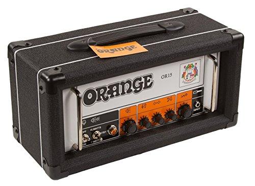 Orange OR15 Guitar Amp Head, Black by Orange
