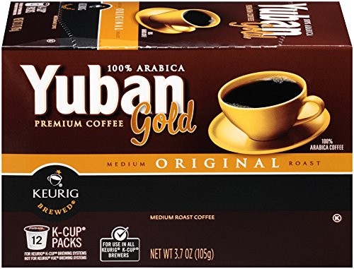 Yuban Colombian Coffee, Medium Roast, K-CUP Pods, 18 count