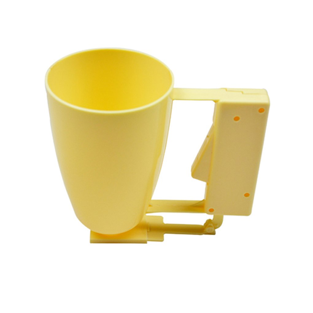Korowa Cake Making Helper Cup Pastry ABS Handle Batter Dispenser Cake Batter Kitchen Tools