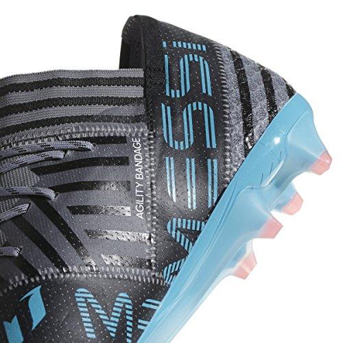 Adidas Nemeziz Messi 17.1 Fg Klamp Voetbal Van Mensen 7.5 Grijs-wit-core Zwart