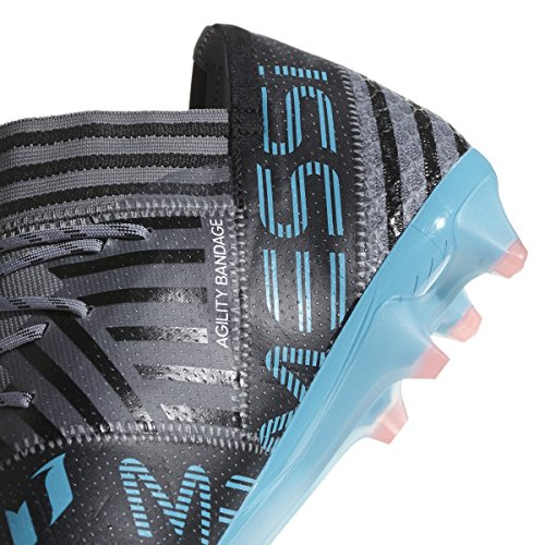 Adidas Nemeziz Messi 17,1 Fg Cleat Mens Fotboll 8,5 Grå-vit-core Svart