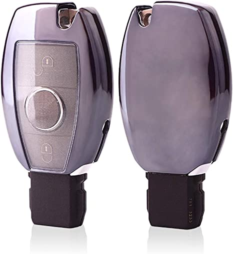 Keyless Go KAKTUS Mercedes Benz Cover Protettiva Smart Key Protection Shell per Chiave a 2-3 Tasti Mercedes Benz