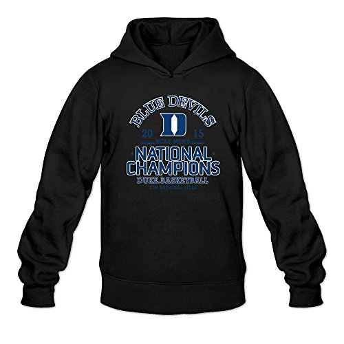Duke Blue Devils 2015 NCAA Basketball National Champions Hoodies Sweatshirt Black For Men