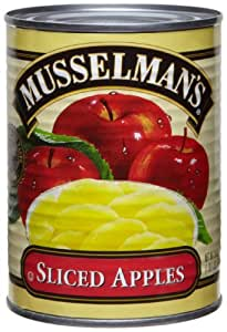Musselman's Sliced Apple in Water, 20-Ounce Cans (Pack of 6)