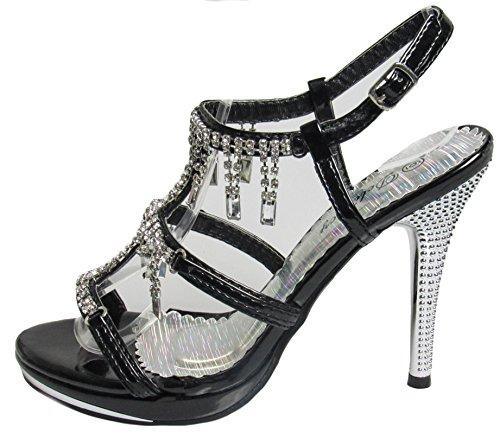 Marvelous Womens party 41 shoe Delicacy Black CYBRqw5qx