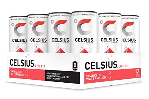 CELSIUS Sparkling Watermelon Fitness Drink product image
