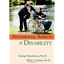 Psychosocial Aspects of Disability by George Henderson (2011-03-11)
