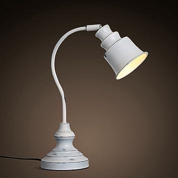 LILY Retro nórdico hacer las lámparas de hierro forjado de ...