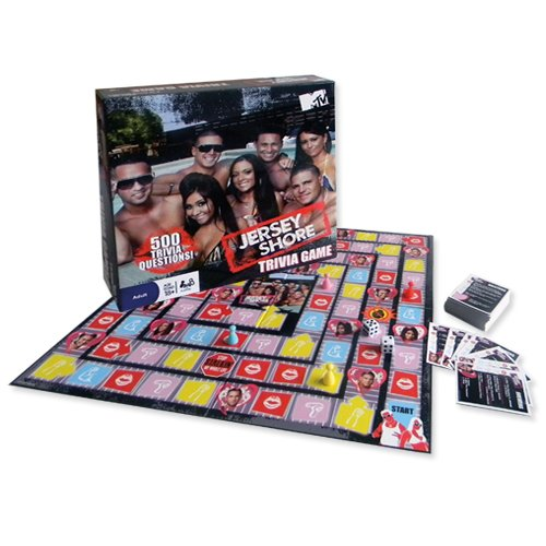 Jersey Shore Trivia Game - Shore Cast Jersey