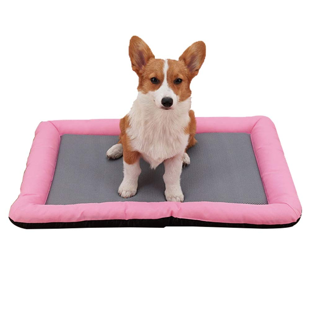 1005-L Pet Nest, Kennel Breathable Refreshing Small Dog Pet Nest Mat Cat Litter Four Seasons Universal Bite Resistant Deformation (color   1005-L)