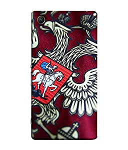 ColorKing Football Russia 12 Multi Color shell case cover for Sony Xperia XA1