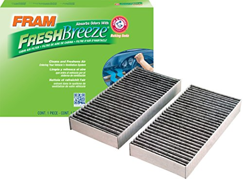 FRAM CF10135 Fresh Breeze Cabin Air Filter with Arm & Hammer ()
