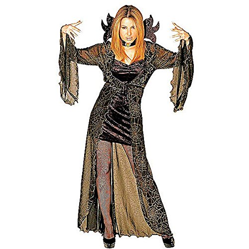 Ladies Spiderella Costume Small Uk 8-10 For Halloween Fancy Dress
