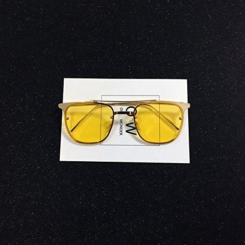 Gafas Yellow Sunglasses Yellow sol de Men Ocean VVIIYJ Sunglasses Ocean gOwxqtvH