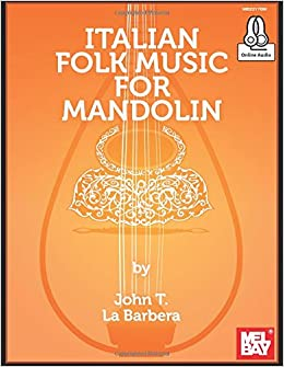 Book Italian Folk Music for Mandolin