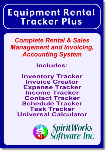 Equipment Rental Tracker Plus [Download] by SpiritWorks Software Inc.