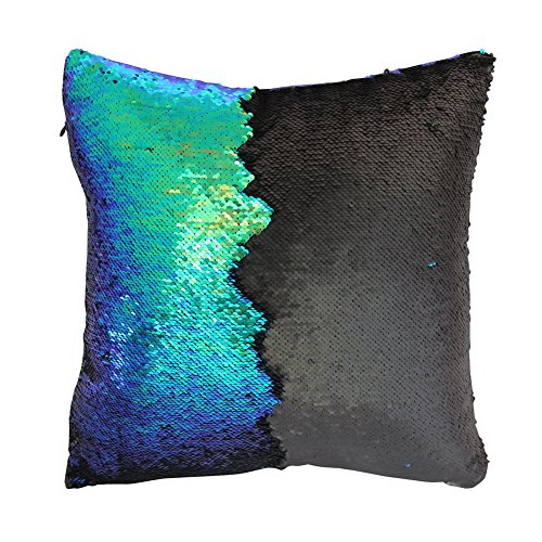amazon com mermaid pillow case play tailor magic reversible sequin