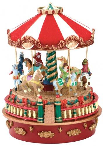 人気が高い Mr。クリスマスミニカーニバルカルーセル音楽ボックス B003U899II、 B003U899II, ドリーム:eed9eb8d --- arcego.dominiotemporario.com