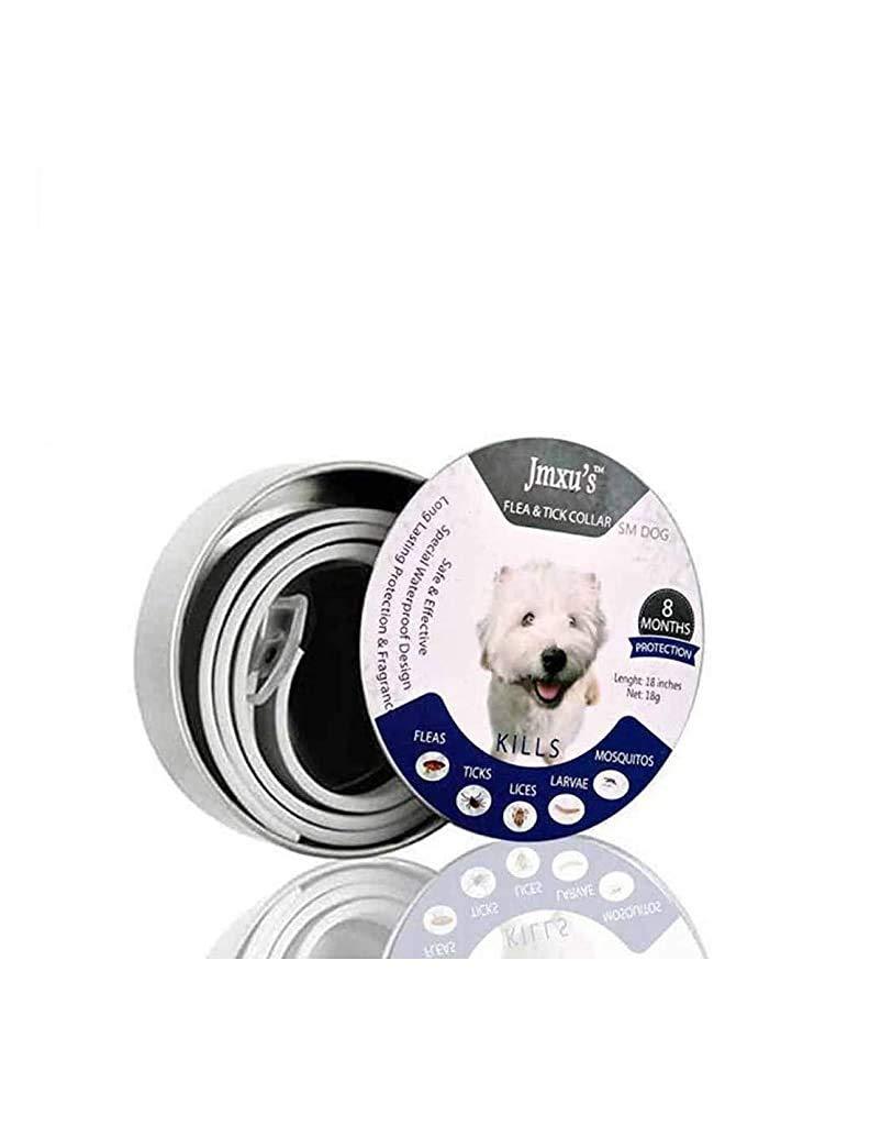 Qpets Adjustable Length Anti Dog Flea Collar 8 Month Protection