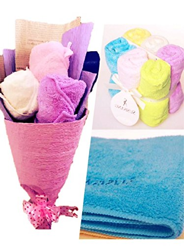 microfiber-towel-set-1-packing-multi-color-6-pieces-quick-drying-antibacterial-hand-face-towel-12x12