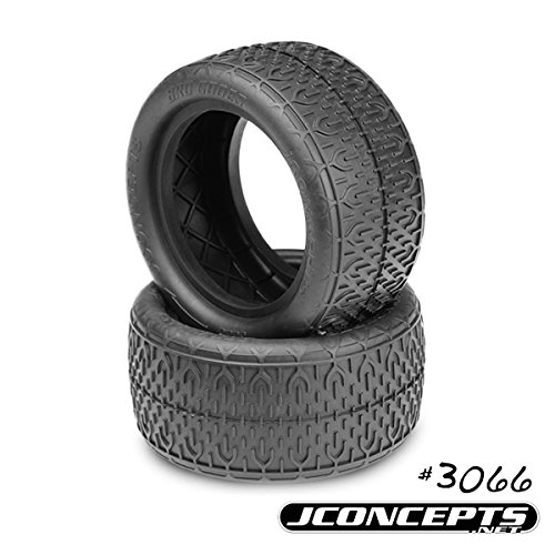 J Concepts 306605 Bro Codes Gold Compound 2.2 Buggy Rear (Low Profile Buggy Tire)
