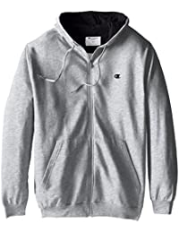 Men's Big & Tall Full-Zip Fleece Hooded Jacket