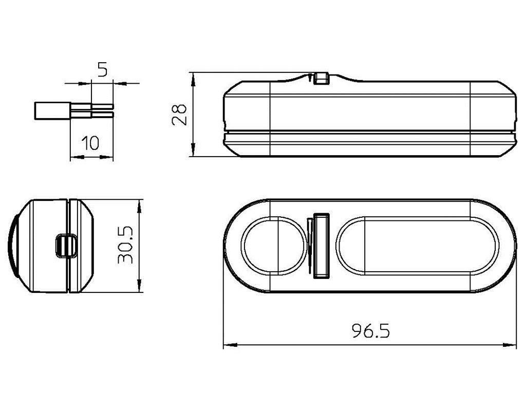 CFL y LED regulables con LED de se/ñalizaci/ón de presencia en red 50 unidades intensidad art 1004//P Ne Ean1 Regulador universal de 4 a 150 W Arditi 036827 para l/ámparas de incandescencia