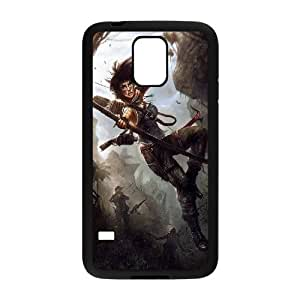 ANCASE Tomb Raider Phone Case For Samsung Galaxy S5 i9600 [Pattern-5]