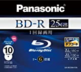 Panasonic Blu-ray Disc 10 Pack - 25GB 6X BD-R - 2010 Version