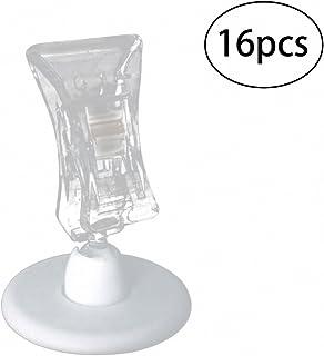 NUOLUX 16 Stück Tischkartenhalter Sitzkartenhalter Bild Foto Memo Clip Halter Ständer für Hochzeit Büro