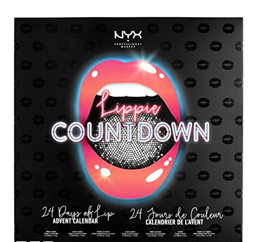NYX Makeup Lippie Countdown advent calendar set by NYX