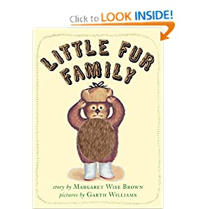 Little Fur Family Board Book Margaret Wise Brown and Garth Williams
