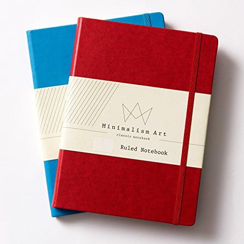 Minimalism art classic notebook journal size 8 3 x 11 for Minimal art journal