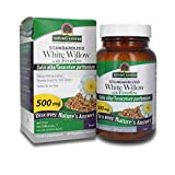Nature's Answer White Willow Bark Capsules Organic with Feverfew Vegetarian Capsules Powder, 60-Count | Inflammation Support | Healthy Joints