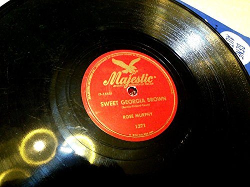 Rose Murphy -Hot Jazz Majestic - Sweet Georgia Brown / Honeysuckle Rose -In E-/E