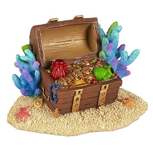 Miniature Fairy Garden Mermaid Treasure Chest