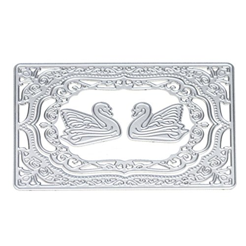 XUANOU Exquisite Cutting Dies Metal Stencils DIY Handmade Scrapbooking Paper Card Album Craft (A)