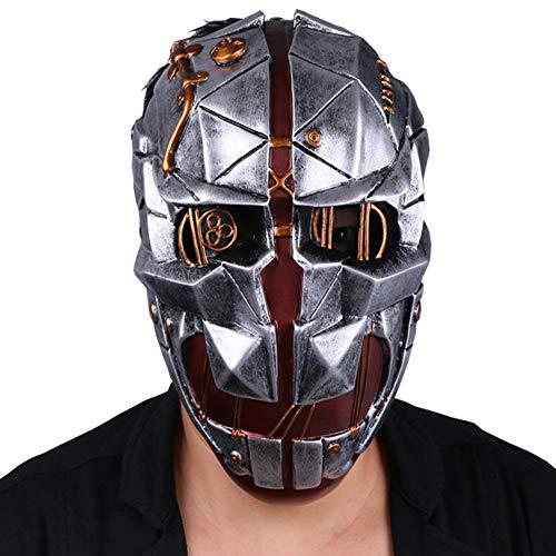 Cosplaybar Game Corvo Attano Fiberglass Mask Cosplay Halloween]()
