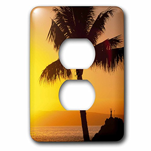 3dRose LLC lsp_89714_6 Sunset Kaanapali Maui Hawaii Us12 Dpb1378 Douglas Peebles 2 Plug Outlet Cover by 3dRose